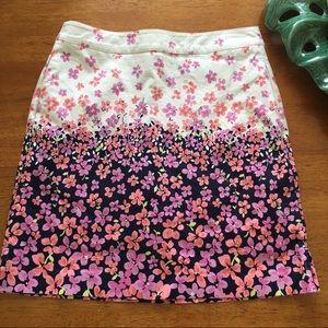Floral EP Pro golf skirt